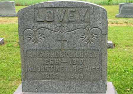 LOVEY, ALEXANDER L. - Scioto County, Ohio   ALEXANDER L. LOVEY - Ohio Gravestone Photos