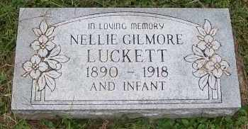 GILMORE LUCKETT, NELLIE - Scioto County, Ohio | NELLIE GILMORE LUCKETT - Ohio Gravestone Photos