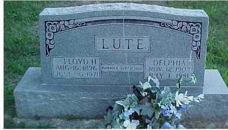 LUTE, DELPHIA - Scioto County, Ohio | DELPHIA LUTE - Ohio Gravestone Photos