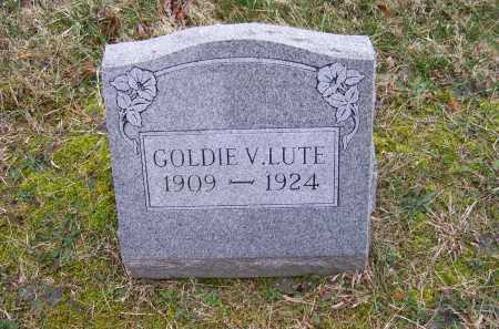 LUTE, GOLDIE V. - Scioto County, Ohio | GOLDIE V. LUTE - Ohio Gravestone Photos