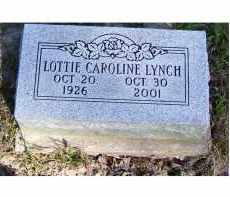 LYNCH, LOTTIE CAROLINE - Scioto County, Ohio | LOTTIE CAROLINE LYNCH - Ohio Gravestone Photos