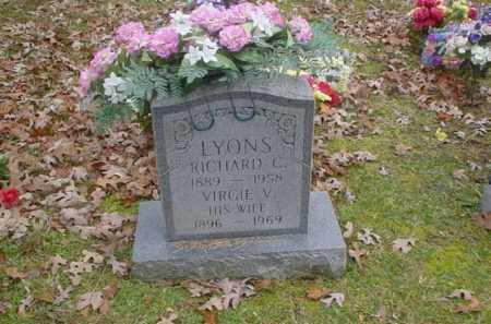 LYONS, VIRGIE V. - Scioto County, Ohio | VIRGIE V. LYONS - Ohio Gravestone Photos