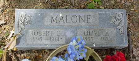 MALONE, ROBERT G. - Scioto County, Ohio   ROBERT G. MALONE - Ohio Gravestone Photos