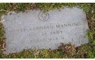 MANNING, DEWEY KENNETH - Scioto County, Ohio | DEWEY KENNETH MANNING - Ohio Gravestone Photos