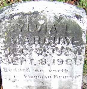 MARCUM, SYLVIA L. - Scioto County, Ohio   SYLVIA L. MARCUM - Ohio Gravestone Photos