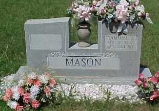 MASON, RAMONA J. - Scioto County, Ohio   RAMONA J. MASON - Ohio Gravestone Photos