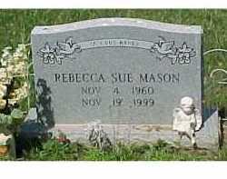MASON, REBECCA SUE - Scioto County, Ohio | REBECCA SUE MASON - Ohio Gravestone Photos
