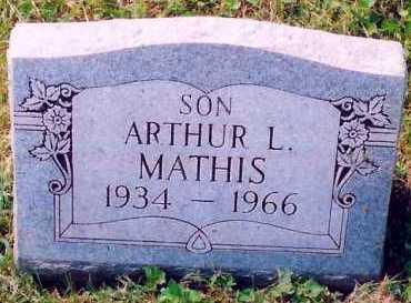 MATHIS, ARTHUR - Scioto County, Ohio | ARTHUR MATHIS - Ohio Gravestone Photos