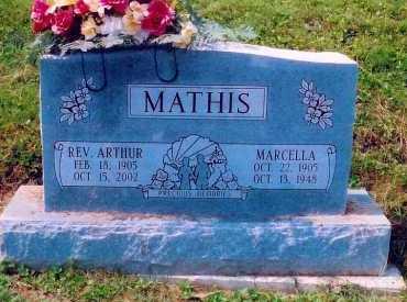 PRESLEY MATHIS, MARCELLA - Scioto County, Ohio | MARCELLA PRESLEY MATHIS - Ohio Gravestone Photos