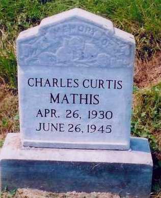 MATHIS, CHARLES CURTIS - Scioto County, Ohio | CHARLES CURTIS MATHIS - Ohio Gravestone Photos