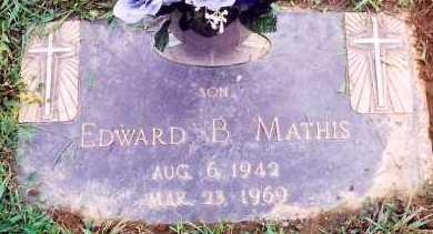 MATHIS, EDWARD B. - Scioto County, Ohio | EDWARD B. MATHIS - Ohio Gravestone Photos