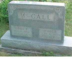 MCCALL, JOHN B. - Scioto County, Ohio | JOHN B. MCCALL - Ohio Gravestone Photos