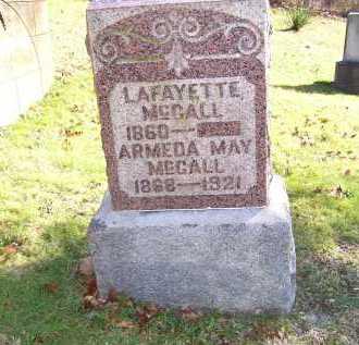 MCCALL, ARMEDA MAY - Scioto County, Ohio   ARMEDA MAY MCCALL - Ohio Gravestone Photos
