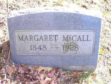 MCCALL, MARGARET - Scioto County, Ohio   MARGARET MCCALL - Ohio Gravestone Photos