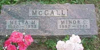 MCCALL, MINOR C. - Scioto County, Ohio | MINOR C. MCCALL - Ohio Gravestone Photos