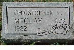 MCCLAY, CHRISTOPHER S. - Scioto County, Ohio | CHRISTOPHER S. MCCLAY - Ohio Gravestone Photos