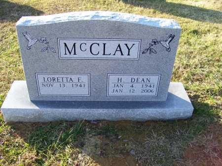 MCCLAY, LORETTA F. - Scioto County, Ohio | LORETTA F. MCCLAY - Ohio Gravestone Photos