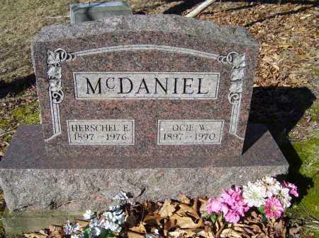 MCDANIEL, OCIE W. - Scioto County, Ohio | OCIE W. MCDANIEL - Ohio Gravestone Photos