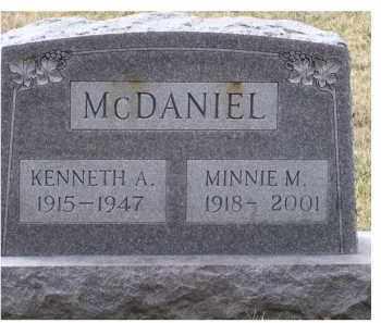 MCDANIEL, MINNIE M. - Scioto County, Ohio | MINNIE M. MCDANIEL - Ohio Gravestone Photos