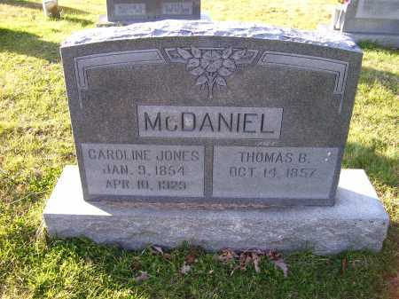JONES MCDANIEL, CAROLINE - Scioto County, Ohio | CAROLINE JONES MCDANIEL - Ohio Gravestone Photos