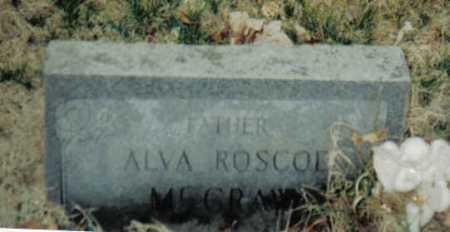 MCGRAW, ALVA ROSCOE - Scioto County, Ohio | ALVA ROSCOE MCGRAW - Ohio Gravestone Photos