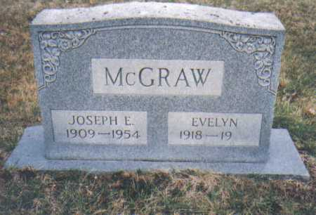 MCGRAW, JOSEPH E. - Scioto County, Ohio | JOSEPH E. MCGRAW - Ohio Gravestone Photos