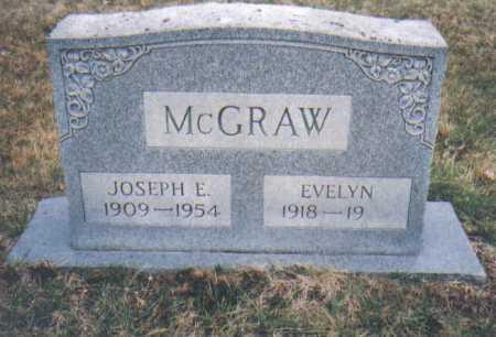 MCGRAW, JOSEPH E. - Scioto County, Ohio | JOSEPH E. MCGRAW - Ohio Gravestone Photos