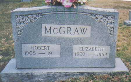 MCGRAW, ELIZABETH - Scioto County, Ohio | ELIZABETH MCGRAW - Ohio Gravestone Photos