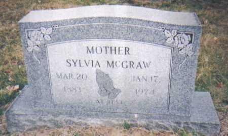 MCGRAW, SYLVIA - Scioto County, Ohio   SYLVIA MCGRAW - Ohio Gravestone Photos