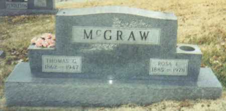 MCGRAW, THOMAS G. - Scioto County, Ohio | THOMAS G. MCGRAW - Ohio Gravestone Photos