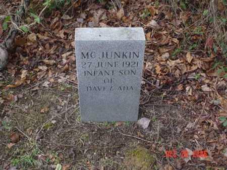 MCJUNKIN, INFANT - Scioto County, Ohio | INFANT MCJUNKIN - Ohio Gravestone Photos