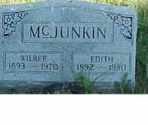MCJUNKIN, EDITH - Scioto County, Ohio | EDITH MCJUNKIN - Ohio Gravestone Photos