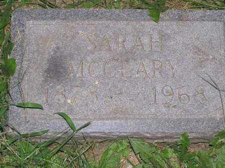 MCLEARY, SARAH - Scioto County, Ohio   SARAH MCLEARY - Ohio Gravestone Photos