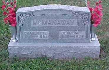 MCMANAWAY, CHARLOTTE - Scioto County, Ohio | CHARLOTTE MCMANAWAY - Ohio Gravestone Photos