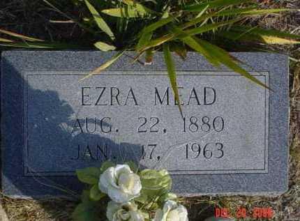 MEAD, EZRA - Scioto County, Ohio | EZRA MEAD - Ohio Gravestone Photos