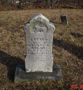 MEAD, INFANT - Scioto County, Ohio   INFANT MEAD - Ohio Gravestone Photos