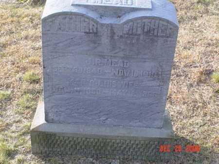 MEAD, MARY J. - Scioto County, Ohio | MARY J. MEAD - Ohio Gravestone Photos