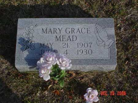 MEAD, MARY GRACE - Scioto County, Ohio   MARY GRACE MEAD - Ohio Gravestone Photos