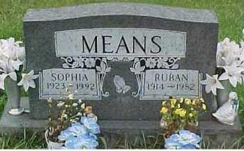 MEANS, RUBAN - Scioto County, Ohio | RUBAN MEANS - Ohio Gravestone Photos
