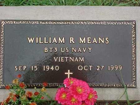 MEANS, WILLIAM R. - Scioto County, Ohio | WILLIAM R. MEANS - Ohio Gravestone Photos