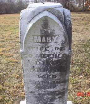 MECHLIN, MARY - Scioto County, Ohio | MARY MECHLIN - Ohio Gravestone Photos