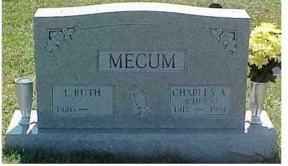 MECUM, CHARLES A. - Scioto County, Ohio | CHARLES A. MECUM - Ohio Gravestone Photos