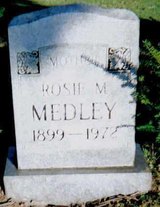 MEDLEY, ROSIE M. - Scioto County, Ohio   ROSIE M. MEDLEY - Ohio Gravestone Photos