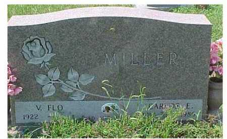 HONAKER MILLER, V. FLO - Scioto County, Ohio | V. FLO HONAKER MILLER - Ohio Gravestone Photos