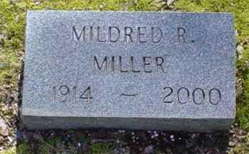 MILLER, MILDRED R. - Scioto County, Ohio | MILDRED R. MILLER - Ohio Gravestone Photos