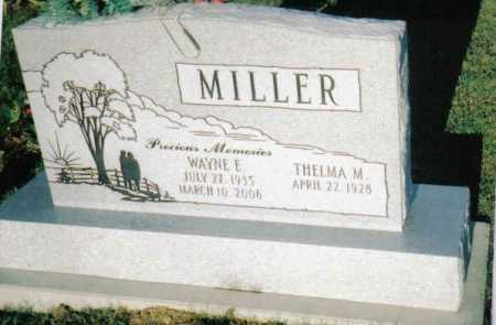 MILLER, THELMA M. - Scioto County, Ohio | THELMA M. MILLER - Ohio Gravestone Photos