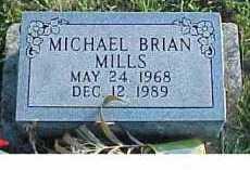 MILLS, MICHAEL BRIAN - Scioto County, Ohio | MICHAEL BRIAN MILLS - Ohio Gravestone Photos