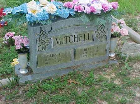 MITCHELL, HERB - Scioto County, Ohio   HERB MITCHELL - Ohio Gravestone Photos