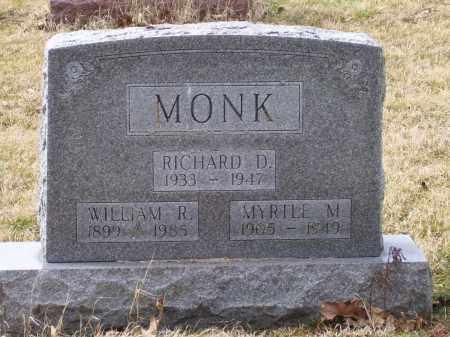 MONK, MYRTLE M. - Scioto County, Ohio | MYRTLE M. MONK - Ohio Gravestone Photos