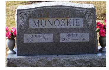 MONOSKIE, JOHN E. - Scioto County, Ohio | JOHN E. MONOSKIE - Ohio Gravestone Photos